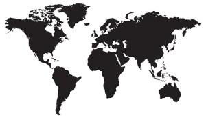 World,map