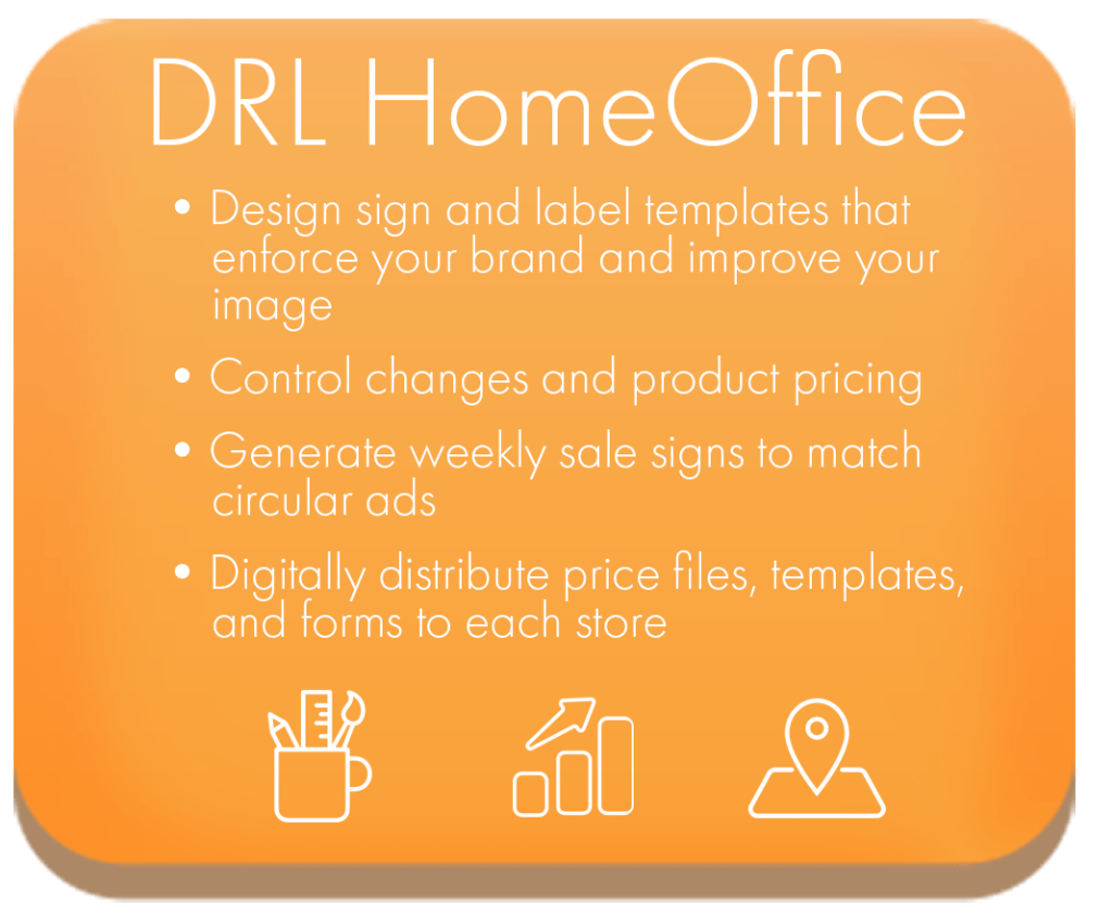 Software for Chain Store Retailers-DESIGN-R-LABELS HomeOffice