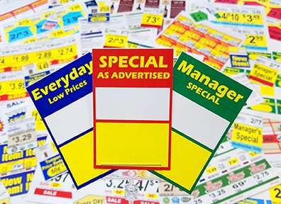 Shelf Talkers for retail stores