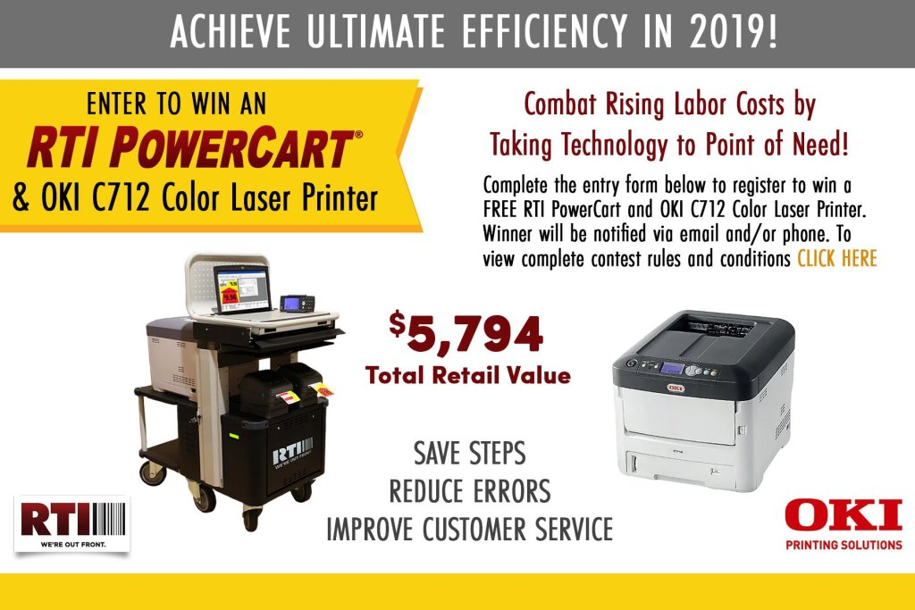 Retail Technologies, Inc. free Power Cart and Laser Printing drawing