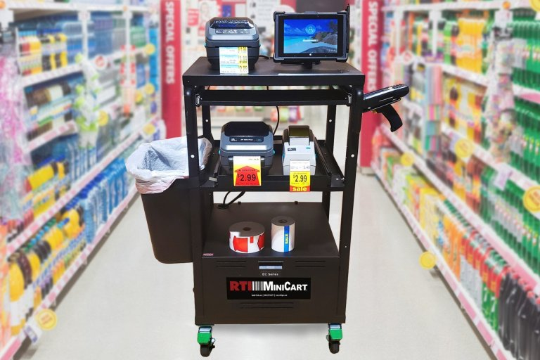 N-Aisle Printing | Print retail labels in the aisle at the