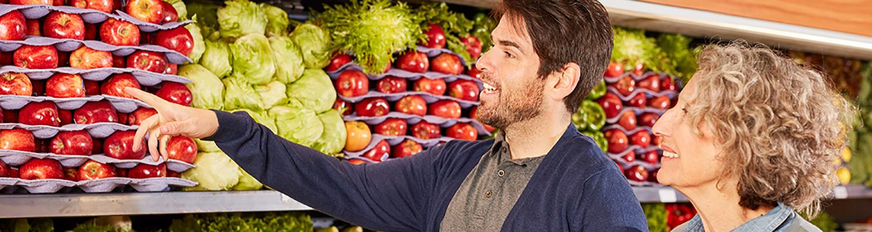 Webshops für Lebensmittel