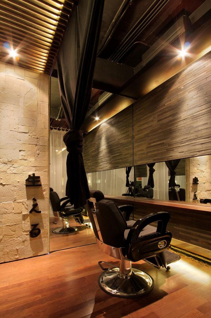 Japanese Hair Salon Hairu by Chrystalline Architect  Retail Design Blog