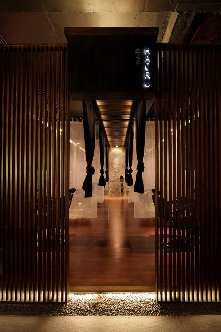 Japanese Hair Salon Hairu by Chrystalline Architect