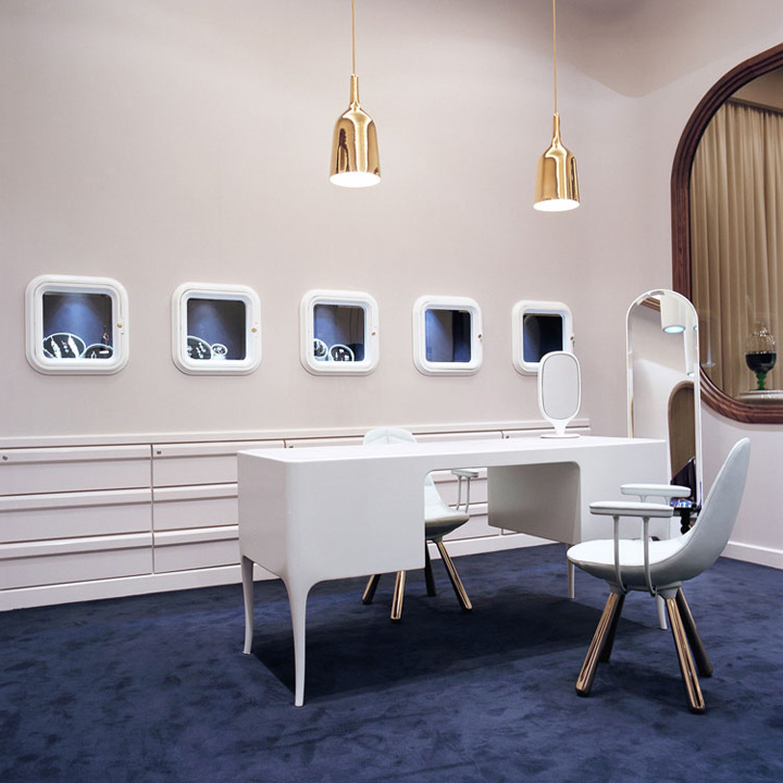 Octium jewelry store design by Jaime Hayon Kuwait
