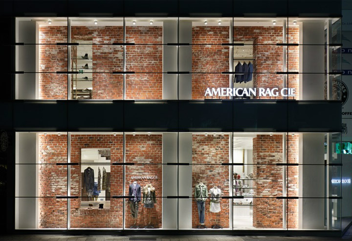 AMERICAN RAG CIE by Moment Design Nagoya Japan  Retail Design Blog