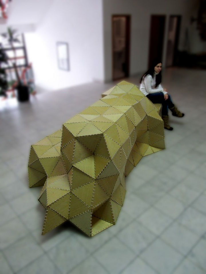 187 Origami Forum By Modelart Studio