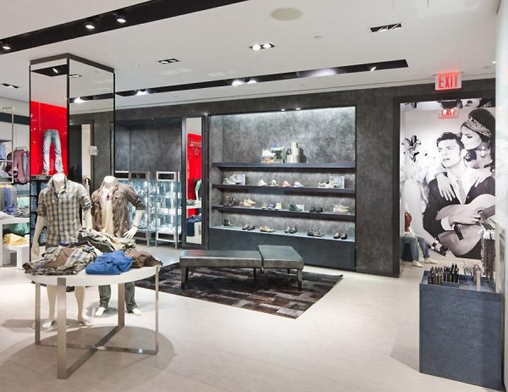 Guess flagship store New York 06  Retail Design Blog