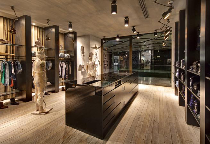 Ksubi fashion store at Westfield by Akin Creative Sydney