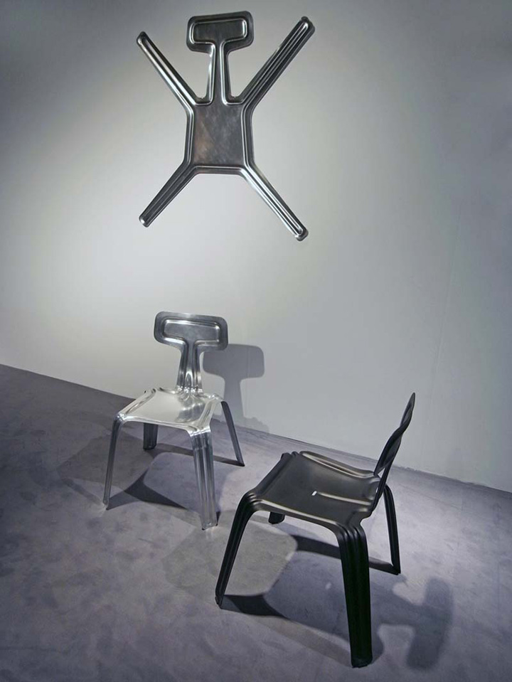 Pressed Chair By Harry Thaler Feel Desain Your Daily