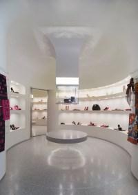 Alexander McQueen flagship store by Pentagram, Los Angeles ...