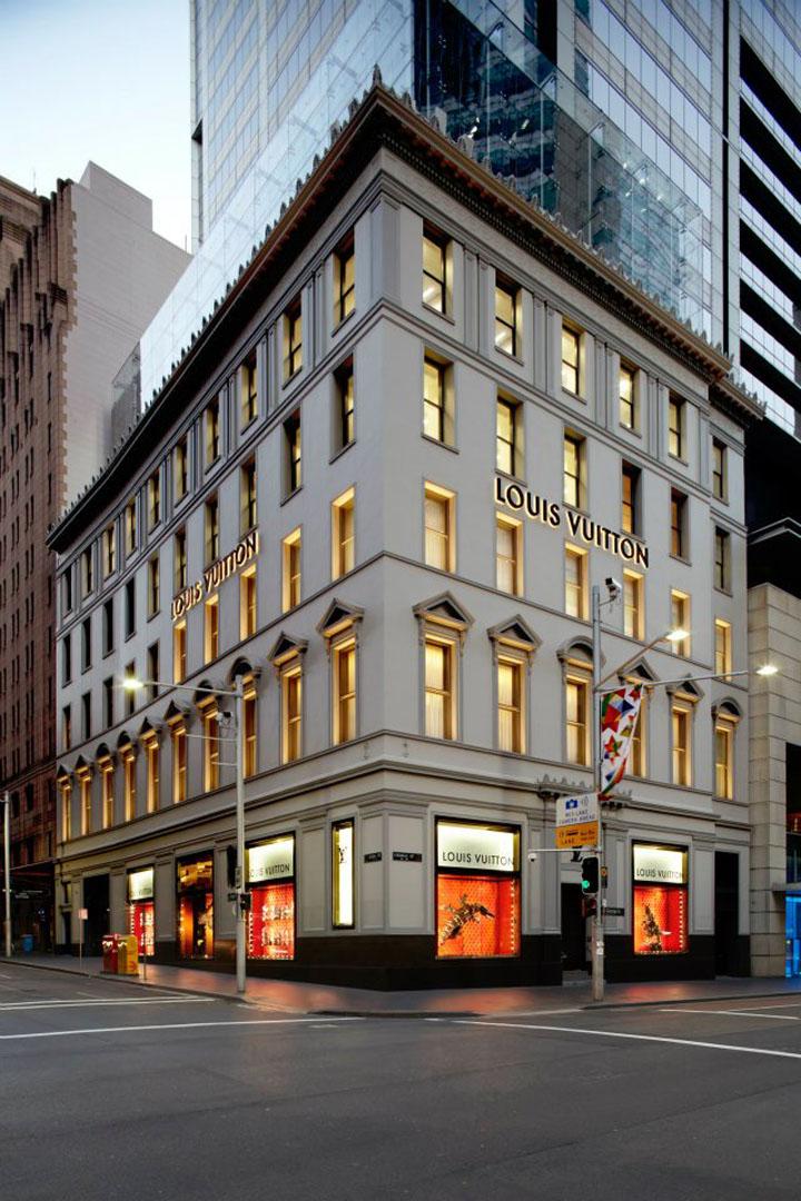 Louis Vuitton George Street Maison Sydney