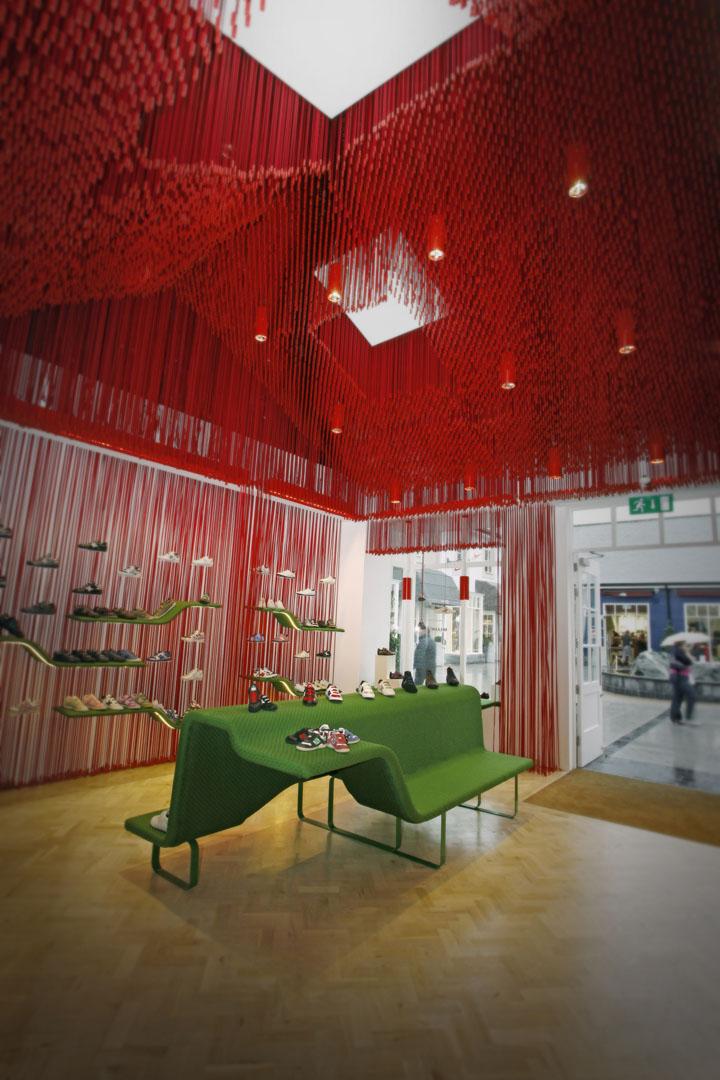 Munich store by Dear Design Kildare Village shopping mall