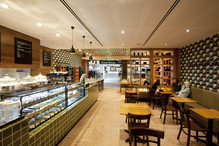 Oliver Brown Chocolate Cafe by Morris Selvatico Chatswood  Sydney