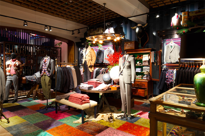 Tommy Hilfiger flagship store Brompton Road London