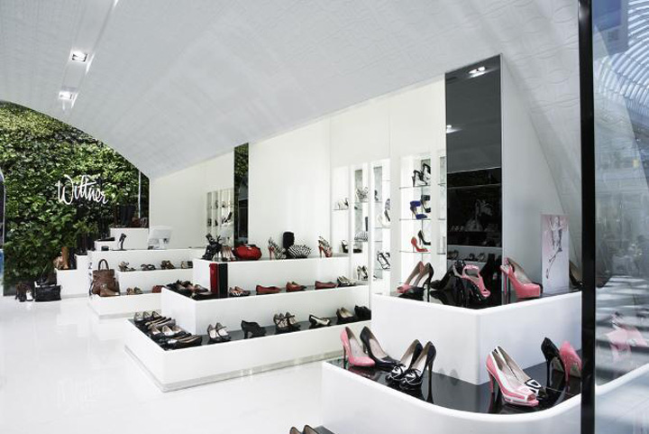 Wittner shoe store by Studio Ginger Chadstone