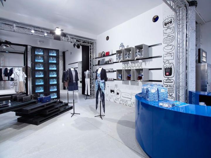 POPUP Colette Chanel popup shop Paris