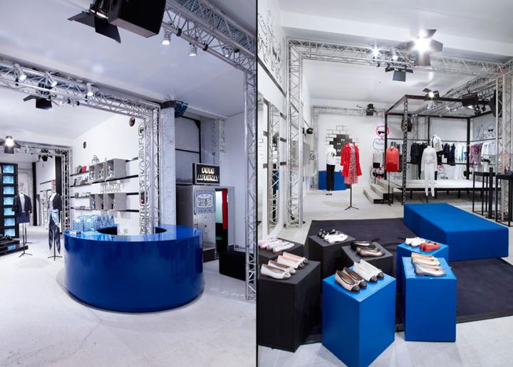 POPUP Colette Chanel popup shop Paris  Retail Design Blog
