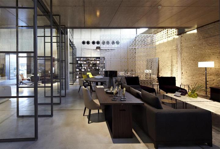 BB Italia store Pitsou Kedem Architects Tel Aviv 02 B&B Italia store by Pitsou Kedem Architects, Tel Aviv