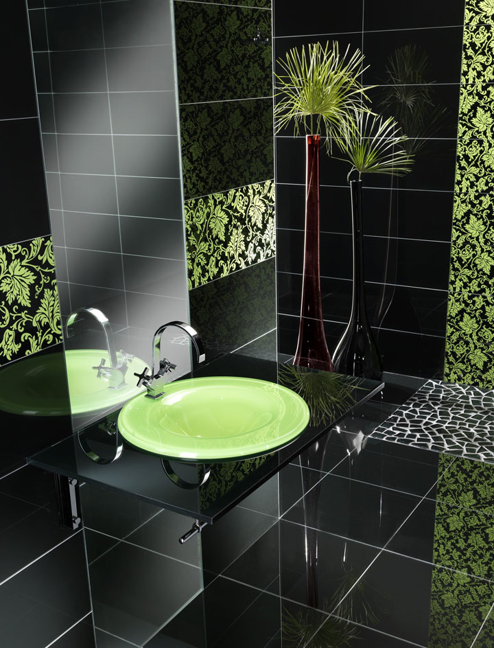 Glass tiles by Vetrocolor