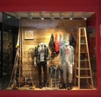 Izod window display  Retail Design Blog