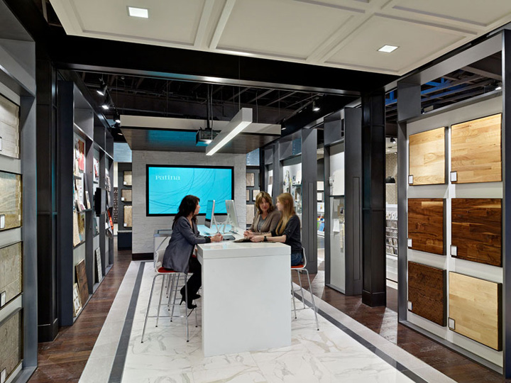 Patina Flooring Store by Gensler Dallas