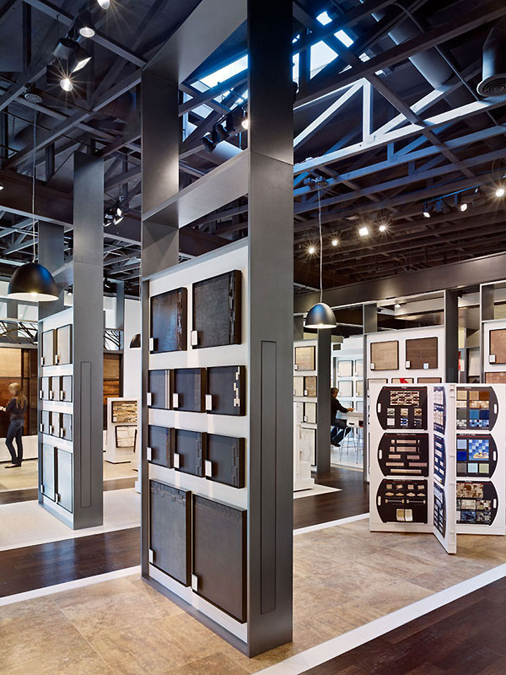 Patina Flooring Store by Gensler Dallas