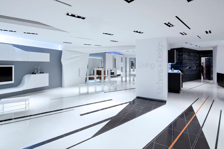Snaidero USA Showroom by Giorgio Borruso Design New York