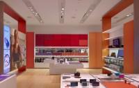 Sony Leap Westfield store by Brand + Allen, Los Angeles ...