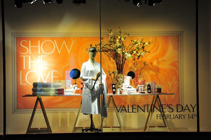 The Hudson Bay Window Displays Valentines Day 2012