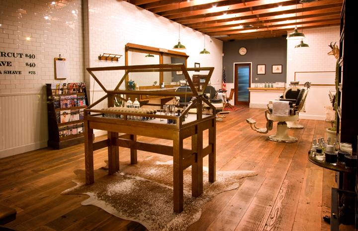 HAIRDRESSER Baxter Finley Barber  Shop Los Angeles