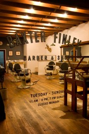 hairdresser baxter finley barber