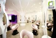 beauty salon retail design