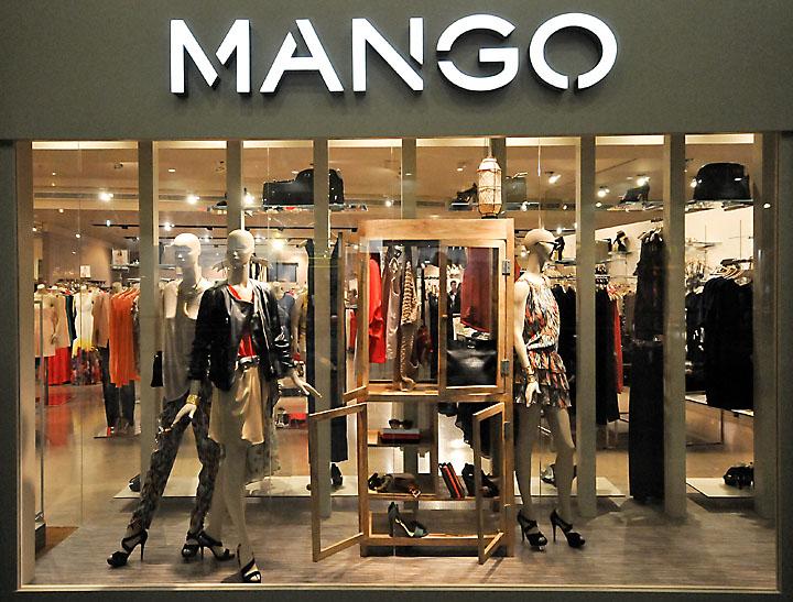 Mango Window Displays Budapest
