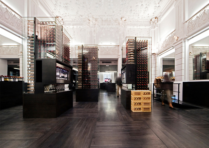 Max Wine Gallery by Antonio Rico_architecte Bordeaux