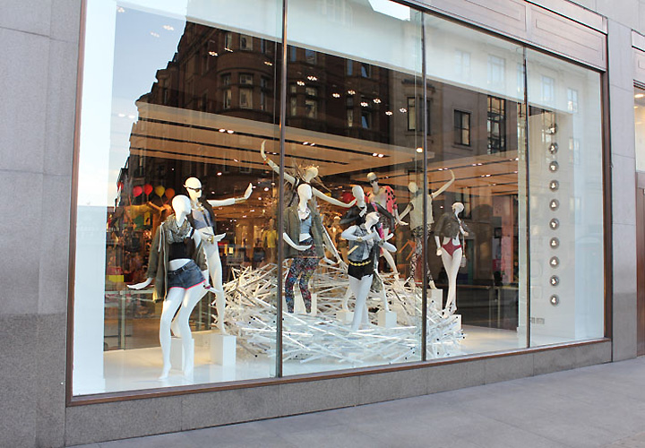Topshop Oxford Circus Windows By StudioXAG London
