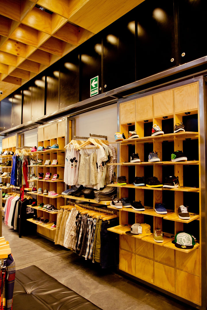 DC Shoes Concept Store By MF Architectural Lima
