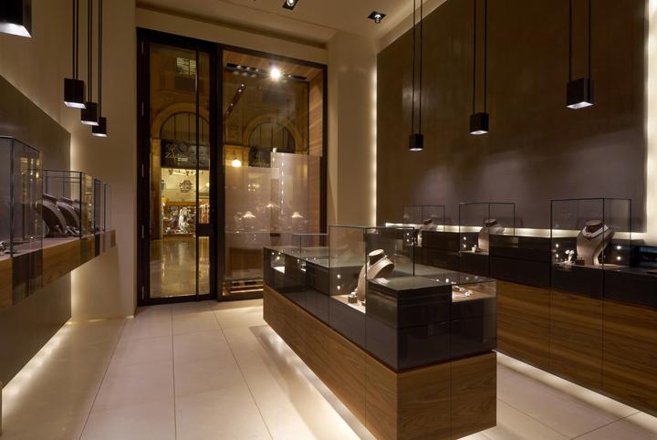 Leo Pizzo jewelry boutique by Diego Bortolato Architetto
