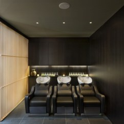 Used Restaurant Chairs White Desk And Chair » Aveda Lifestyle Salon Spa By Reis Design, London