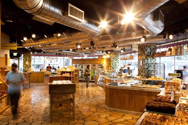 » Berman's Bakery flagship store by Studio Yaron Tal. Jerusalem