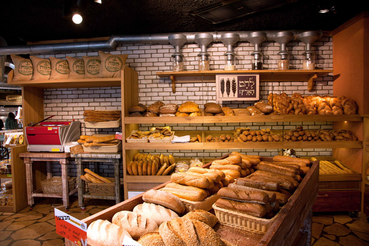 Bermans Bakery flagship store by Studio Yaron Tal