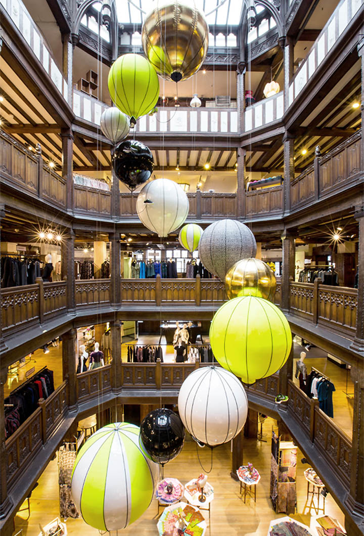 Nike x Liberty popup and atrium by Hotel Creative London