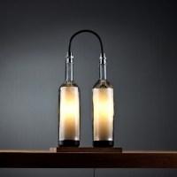 Wine Bottle Lamp Series by John Meng  Retail Design Blog