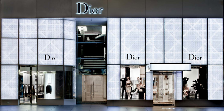 Dior Homme flagship store New York