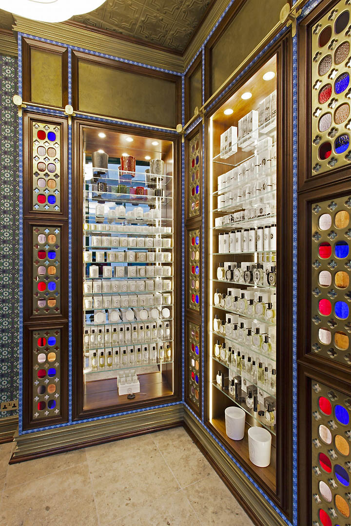 Diptyque shop by Christopher Jenner London  Retail