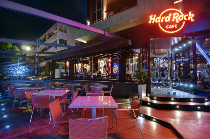 Hard Rock Cafe Glyfada by Dimitris Economou Interiors