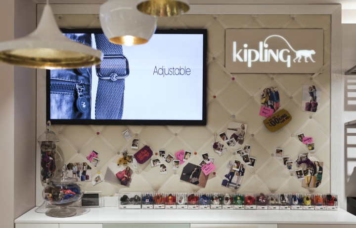 Kipling store by UXUS London  Retail Design Blog