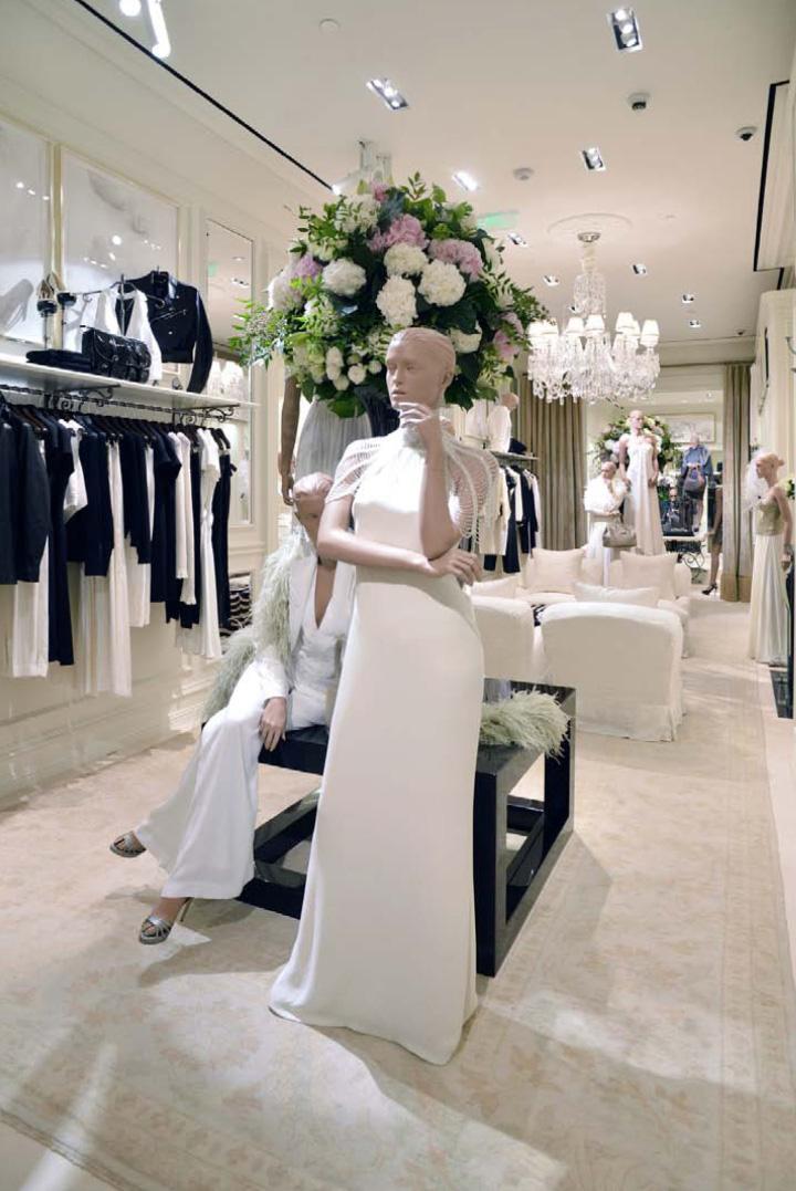 Ralph Lauren womenswear store by Michael Neumann Architecture Shanghai