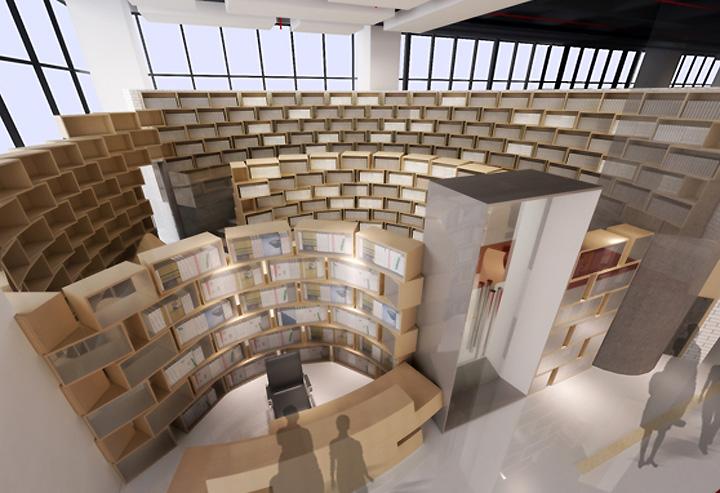 Tongji bookstore by ArchiUnion Architects Shanghai