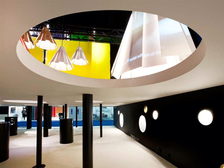Delta Light booth at Interieur 2012 Kortrijk  Belgium